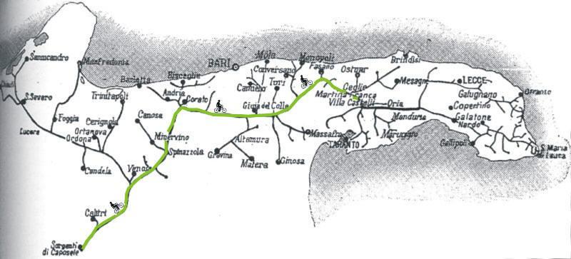 Cartina Puglia Fiumi.Le Vie Verdi Sull Acquedotto Pugliese